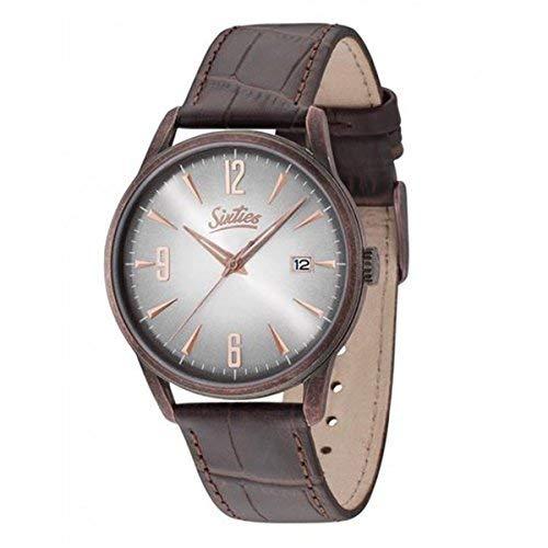 Sixties Unisex-Armbanduhr im Stil der 60er Jahre   Times Change - Style Doesn't   Für modebewusste Damen & Herren - Klassische Uhren im coolen Retro-Design