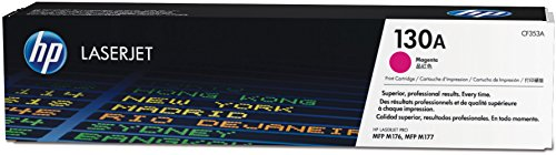 HP 130A Original Toner (geeignet für HP Color Laserjet Pro M176n, HP Color Laserjet Pro M177fw) rot
