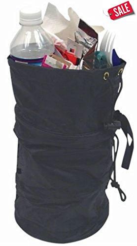 Portable Garbage Trash Bag Holder Collapsible Trash Litter Can for Car - Truck Interior - Skroutz Deals
