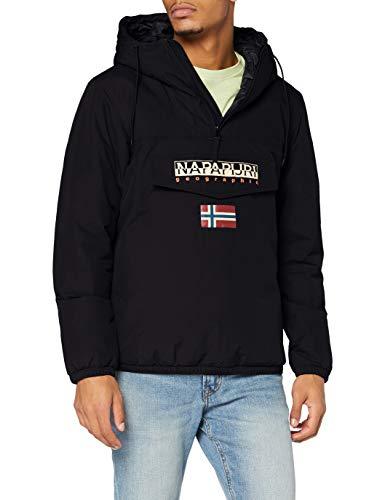 Napapijri SHADE Anorak de invierno para hombre, negro, M