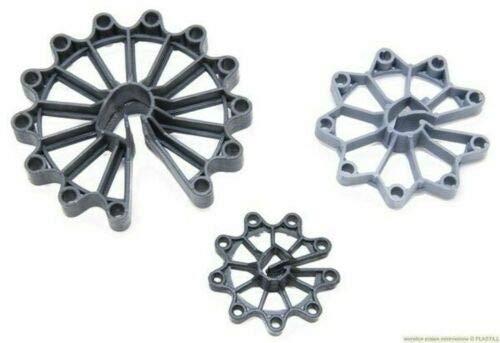 Abstandshalter vertikal Bewehrung Baustahl Betonstahl Ringabstandshalter (Kunststoff, 100x 50mm)