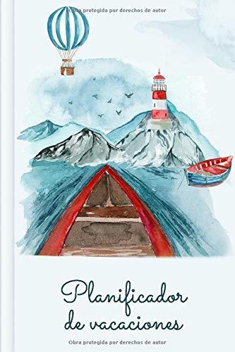 Planificador de vacaciones: Con la lista de equipaje + la lista de tareas + el itinerario + el diario   Diseño: Noruega
