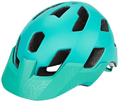 BELL Rush MIPS Casco de Bicicleta, Unisex-Adultos, Esmeralda Mate, Medium