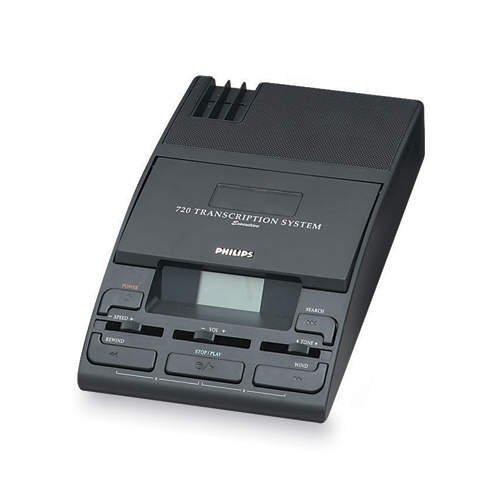 Philips Model LFH 720 Mini Cassette Desktop Transcriber