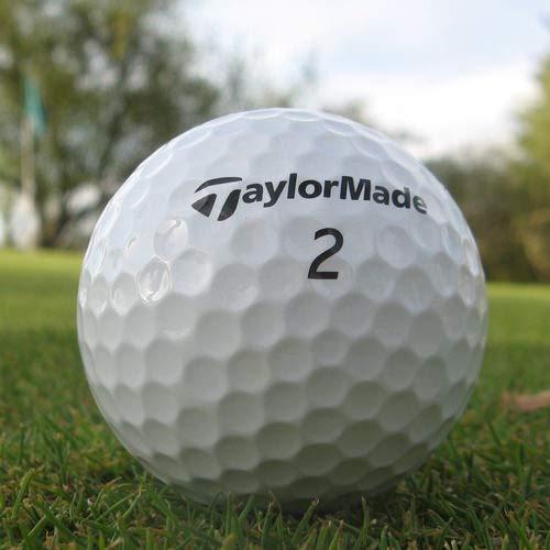 Easy Lakeballs 50 Taylor Made ROCKETBALLZ Pelotas DE Golf RECUPERADAS/Lake Balls - Calidad AAAA/AAA (Pearl/A Grade) - EN Bolsa DE Red