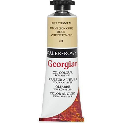 Daler-Rowney Georgian Oil Colors, 38ml, Buff Titanium (111014024)