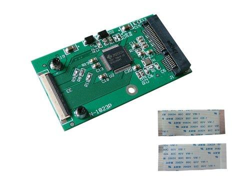 Kalea Informatique Adapter, mSATA auf ZIF 40, für SSD Mini-PCIe Typ mSATA
