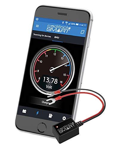Cadillock CLS Smart: Batterieüberwachung, Batterieprüfung, Kontrolle Lichtmaschine, Spannungsmesser