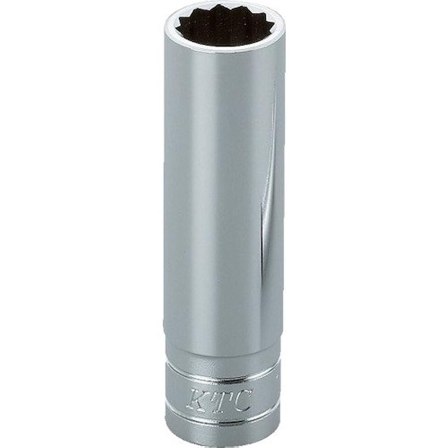 大洪水効果的原因KTC(ケーテーシー) 9.5mm (3/8インチ) ディープソケット (十二角) 16mm B3L16W