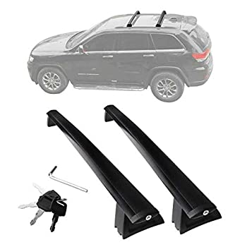 ANTS PART Roof Rack for 2011-2021 Jeep Grand Cherokee Cross Bars with Locks Not fit SRT & Altitude Models