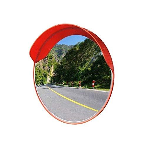 L.TSN Espejo de tráfico Convexo del Lado de la Carretera, Protector Solar a Prueba de Lluvia Intersección del Espejo Convexo Diámetro del Espejo Giratorio del automóvil: 45-120 cm (tamaño: 120 cm)