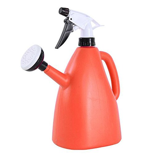 Outflower Arrosoir double usage en plastique Orange 1 l