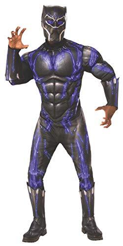 Rubies - Disfraz Oficial de los Vengadores de la Pantera Negra para Hombre Adulto