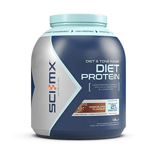 SCI-MX Nutrition Diet Protein Powder, Low Calorie Shake, 1.8 kg, Chocolate, 60 Servings