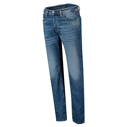 Diesel Mens Larkee-X L.32 Pantaloni Jeans, 01 Blue Denim, 30