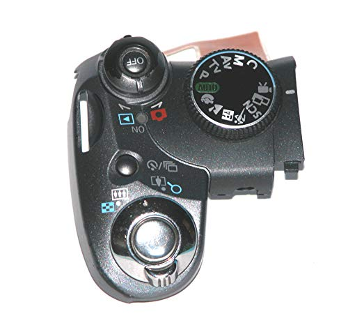 Replacement Repair Parts - Powershot S5is Camera Top Control Assembly with Zoom/Shutter/Mode/Power Buttons