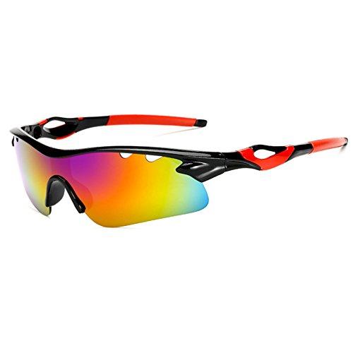 OPSLEA Gafas de Sol de Deportes polarizados para Hombres Mujeres Ciclismo Running conducción Pesca Golf Gafas de béisbol