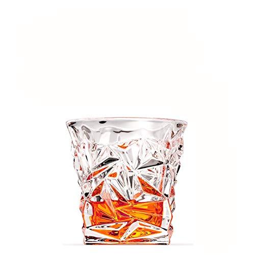 Whiskey-glas, gemaakt silicaatglas, duurzaam, gemakkelijk schoon te maken, perfect voor familiebars, restaurants, Bachelorfeesten, festivals, bruiloften en meer