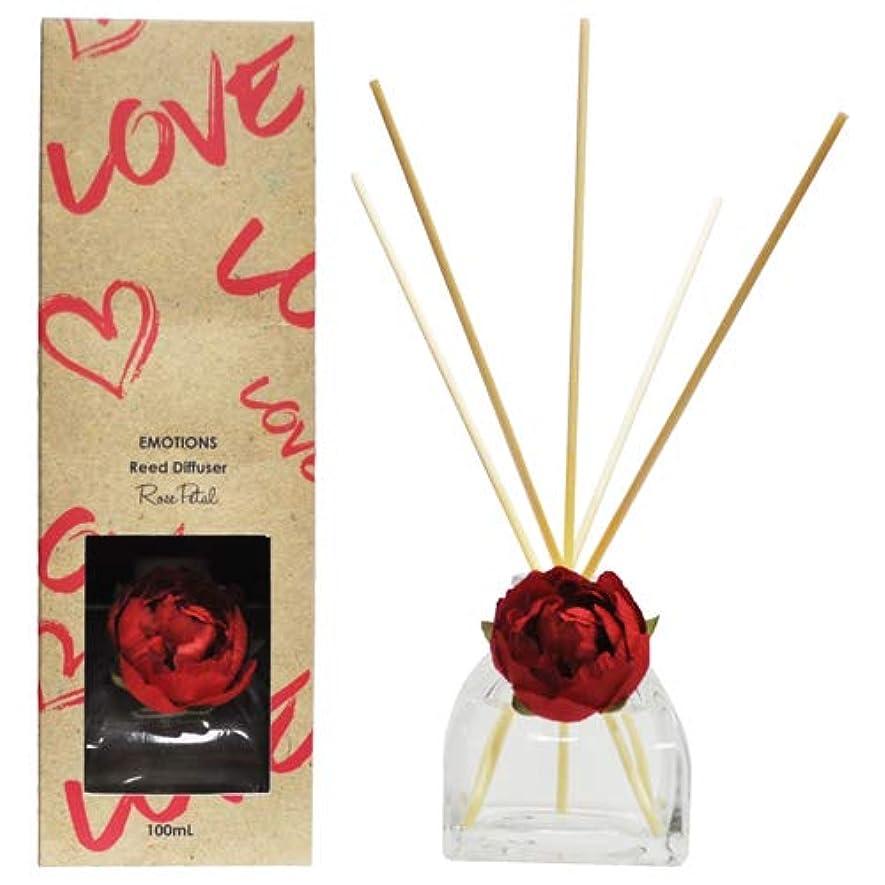 ボイコットリーズ用語集EMOTIONS エモーション Fibre Reed Diffuser リードディフューザー Love ラブ(Rose Petal ローズペタル)