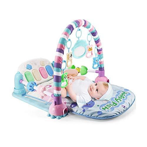 Baby-Turnhallen und Aktivitäten Spielen Sie Mat Kick und Spielen Sie Piano-Turnhallen-Zentren. Geeignet für Neugeborene und 0 Monate alte Jungen und Mädchen