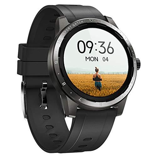 BNMY Smartwatch, Reloj Inteligente Impermeable IP68 Pulsera Actividad Hombre Mujer, Inteligente Reloj Deportivo Reloj Fitness con Pantalla Táctil Completa Pulsómetro Cronómetros per iOS Android,Negro