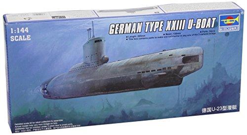 Trompette 05908 Modèle kit Allemand Type XXIII VII-a U-Boat