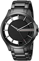 Why And How to Buy The Perfect Watch For Boyfriend - Armani Exchange Men's AX2189 Black Watch