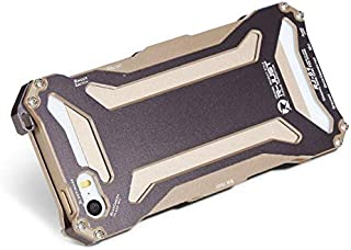 Iphone6s metal case men slim aluminum cover anti fall case shockproof protective sleeve IP686 gold
