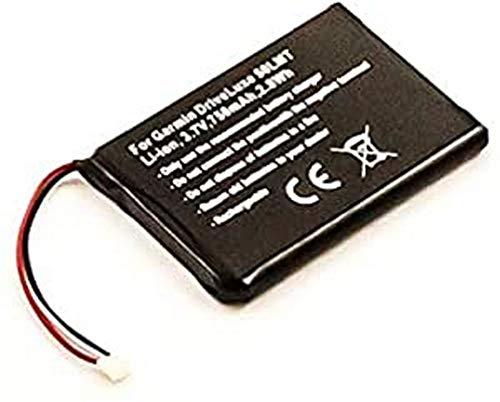 Batería para Garmin DriveLuxe 50LMT, Ion de Litio, 3,7 V, 750 mAh, 2,8 WH