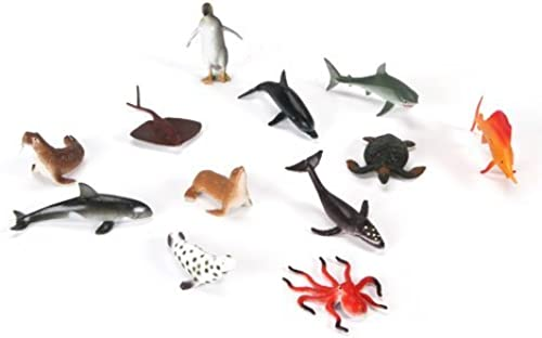 Bulk Buy  Darice Crafts for Kids Sea Life Animals Plastic Assorted 12 inches (3-Pack) 1029-06 by Darice Bulk Buy