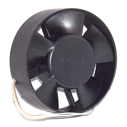 Ventilador Extractor Axial de Alta Temperatura 150°C para conductos Circulares 120 mm Rodamiento a Bolas NSK Japón Double Sellado de Larga Vida de 30.000 Horas