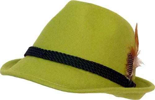 Trachten Chapeau vert pomme - Vert - 54