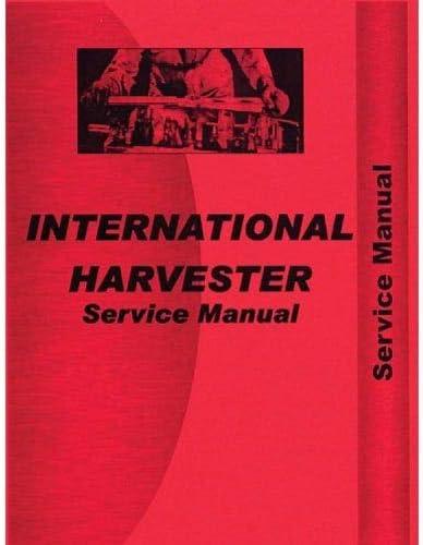 Tractors International Harvester D358 Engine Service Manual Patio ...