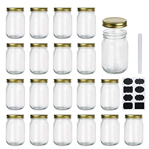 Our #4 Pick is the Encheng Wide Mouth Mason Jars