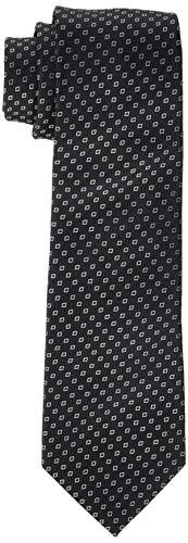 Seidensticker Herren Modern 7 cm breit Krawatte, Schwarz (Schwarz 37), One Size (Herstellergröße:)