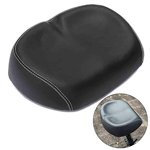 Laufee Anti-Vibration Bicycle Seat Cushion Soft Comfortable Parts Bike Seat, Most Dual Absorbing Memory Foam Waterproof Saddle - Best Stock for Mountain Bikes, Road Bikes Ball Wide Gel Mounting