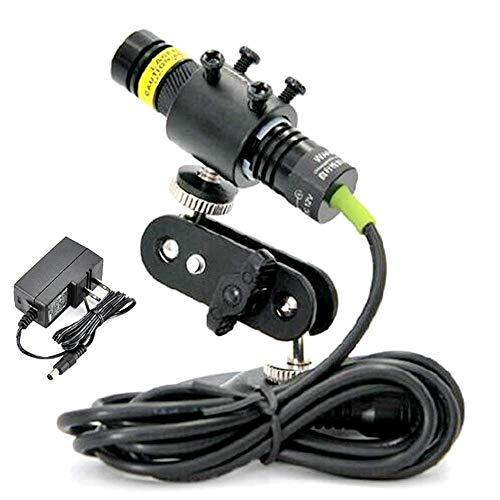 532nm 30mw enfocable verde láser Módulo 22x100mm / AC + Holder + adaptador