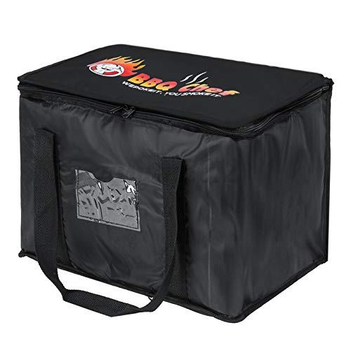 Sac nourriture Livraison Pizza isolé Livraison Sac de transport Leakproof emporter alimentation sac réutilisable de sac d'épicerie Restaurant Supplies pour garder les aliments à chaud ou à froid (50L)