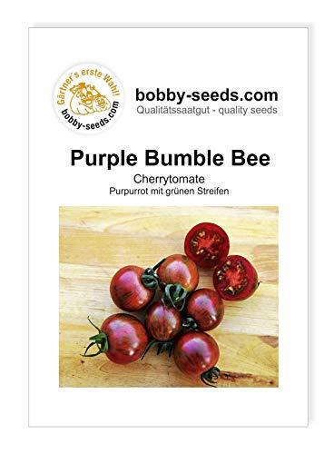 Artisan Purple Bumble Bee Cherrytomate von Bobby-Seeds Portion