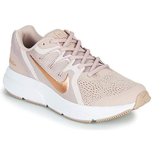 Nike Wmns Zoom Span 3, Zapatillas para Correr Mujer, Stone Mauve/Mtlc Red Bronze/Barely Rose, 41 EU