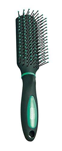 Titania Brosse de sac à main, sèche-cheveux de massage, Soft Touch couleurs, 1er Pack (1 x 35 g)