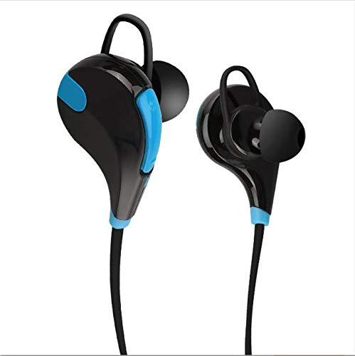 DAEETO, Auricolari wireless, Bluetooth 4.0, Nero/Blu