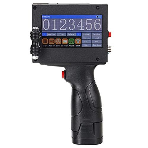 Impresora Inteligente Del Código De Inyección De Tinta HD, Impresora De Etiquetas Portátiles, 4.3 En Pantalla Táctil LED, Para La De Gráficos De Logotipo De Marca Registrada
