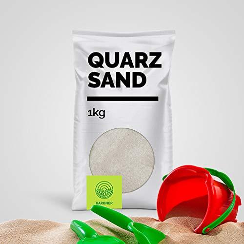 Quarzsand - Spielsand weiß, in sehr feiner Körnung, der Standard für Sandkasten und Beachvolleyball Felder, kostenlose Lieferung,1 kg - 5000 kg im praktischen BigBag