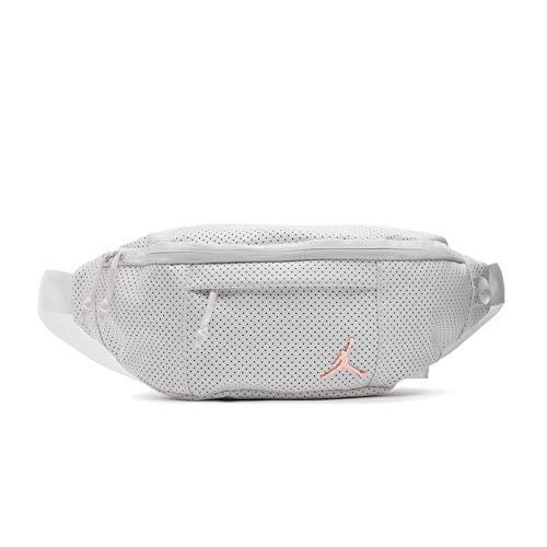 Nike Air Jordan Legacy Pack Crossbody Bag (One Size, White)