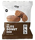 FINALLY, A DONUT YOU CAN FEEL GOOD ABOUT: The Elite Donut - 13g Protein and contains ONLY 1-2g of Sugar. Keto Friendly, Gluten Free, Soy Free, No Added Sugar. Great cake like Taste! Donuts can be stored at ambient temperature for 90 days but we recom...