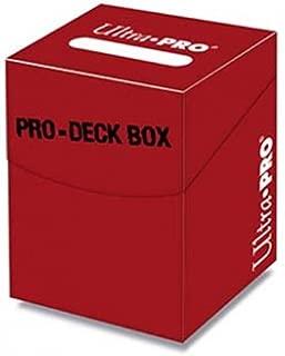 Ultra Pro 100+ Pro Red Deck Box