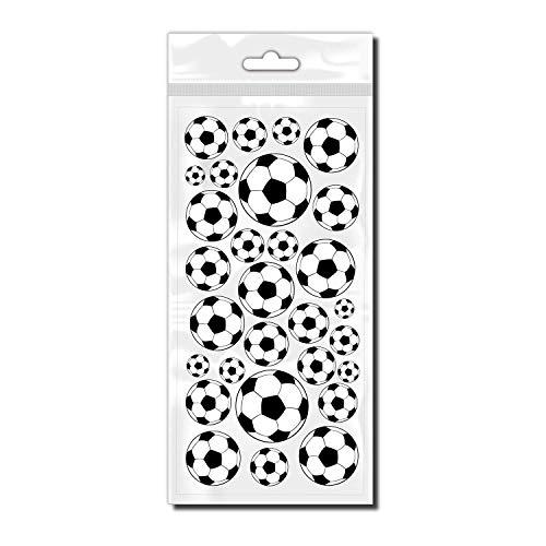style4Bike Rahmen Dekor Fußbälle sportliche Fußbälle als Bicycle Tattoo Set für Fahrrad ✓ Top Aufkleber ✓ | D00011
