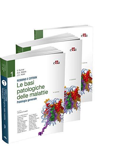 Robbins e Cotran - Le basi patologiche delle malattie (2 volumi, Patologia generale + Anatomia Patologica) + E.C. Klatt, V. Kumar - Test di autovalutazione