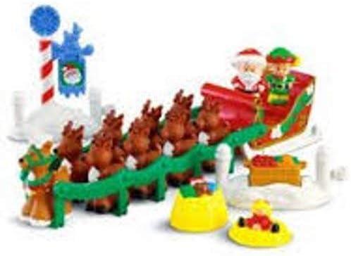 4x Fisher Price Little People SANTA CLAUS Christmas /& Mrs Santa Claus Xmas Gfit